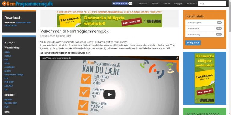 www.nemprogrammering.dk